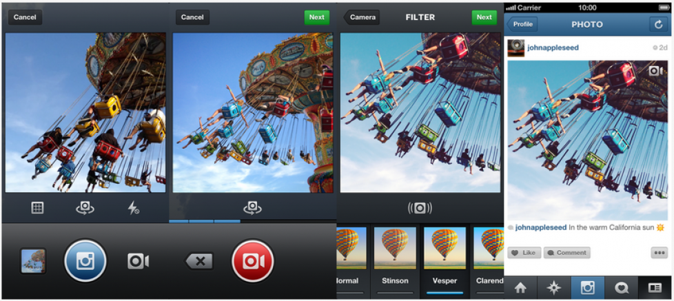 Instagram launches video for Instagram – 15 seconds to touch people