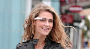Picture of Emily wearing Glass outside