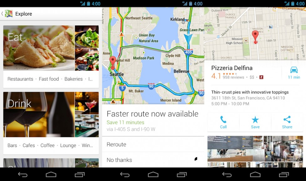 Google updates Maps to 7.0 includes new Explore option