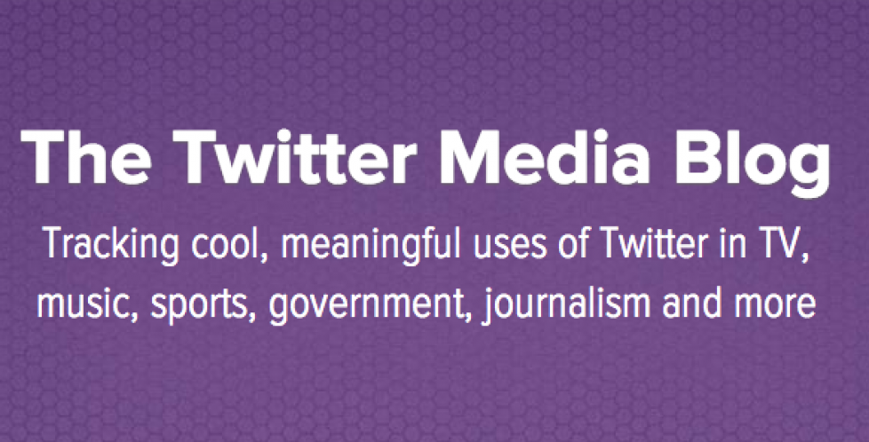 Twitter starts new media blog to show what and how to share